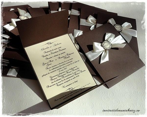 Invitatii De Nunta Botez Handmade Are Oferte Pentru Invitatii De